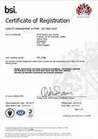 GEMS ISO 9001 Certificate